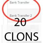 20 клонов банковского перевода (bank_transfer) для 2.x